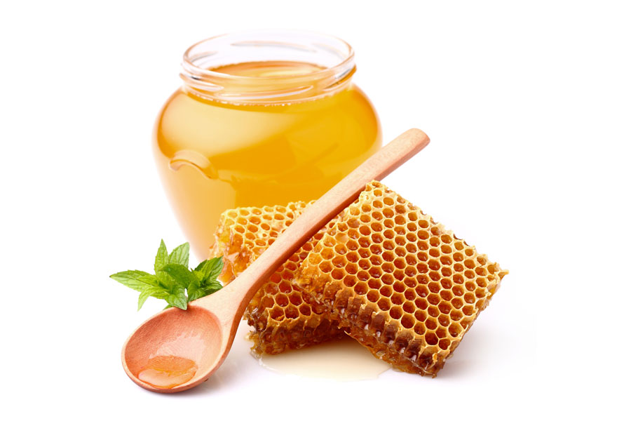 beneficios de la miel recipiente