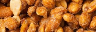 Cacahuetes con miel
