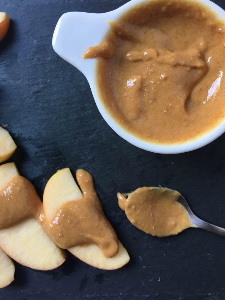 deliciosa crema de cacahuetes con miel
