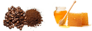 beneficios del café mezclado con miel