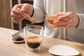café miel para degustar