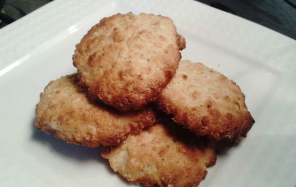 galletas de avena y miel listas para comer