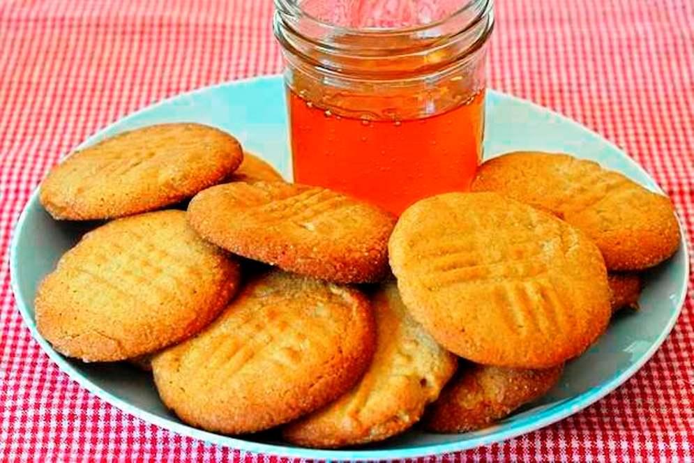 galletas crujientes de miel para desayunos