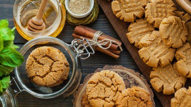 receta para hacer galletas de miel deliciosas