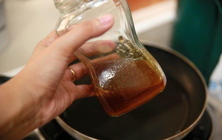 miel en su estado normal luego de deshacer la cristalización
