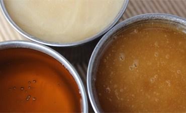 diferentes tipos de miel cruda