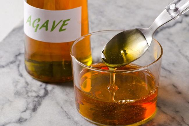 cucharada de miel de agave