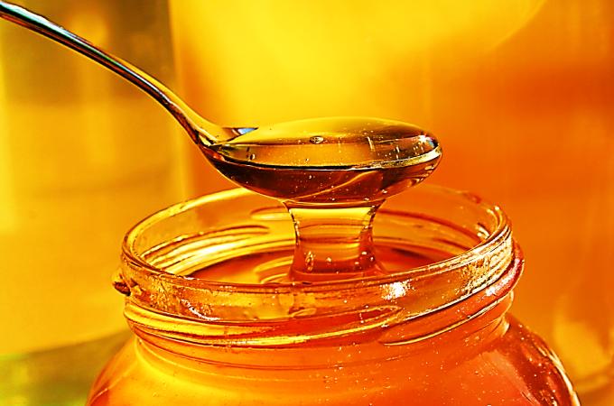 cucharada de miel de azahar