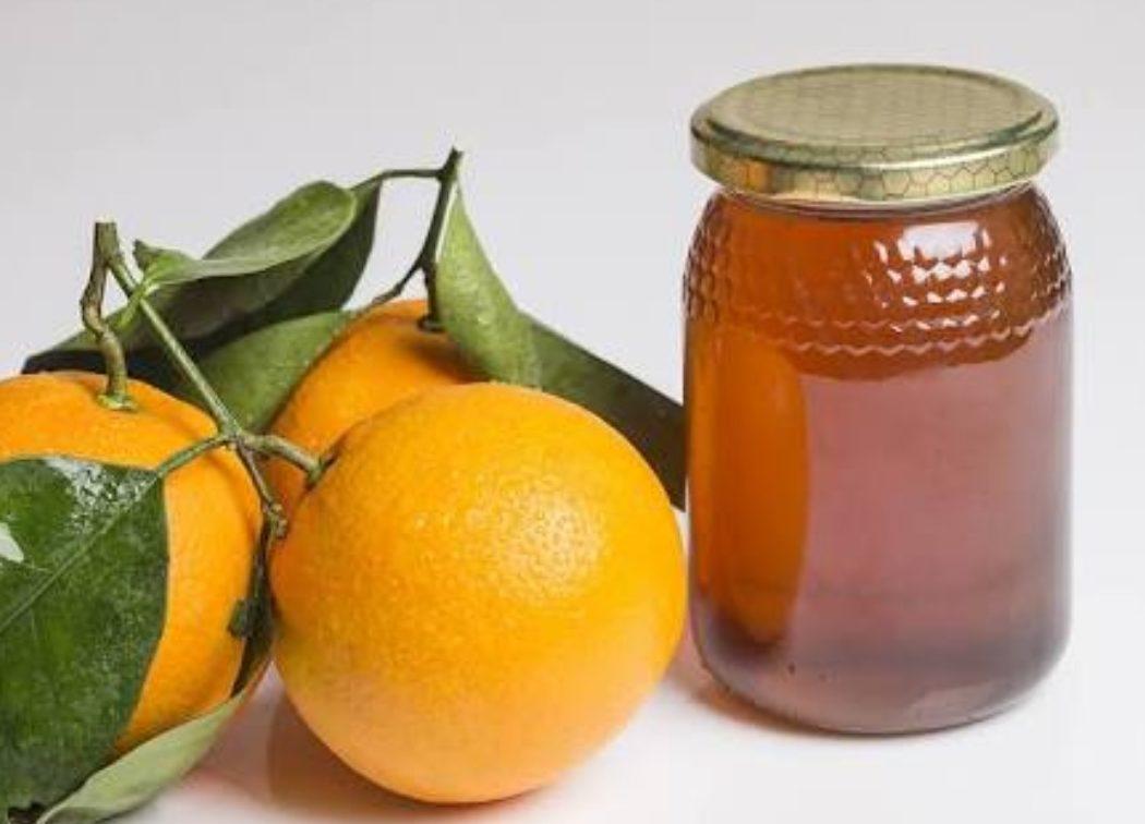 miel de azahar en envase