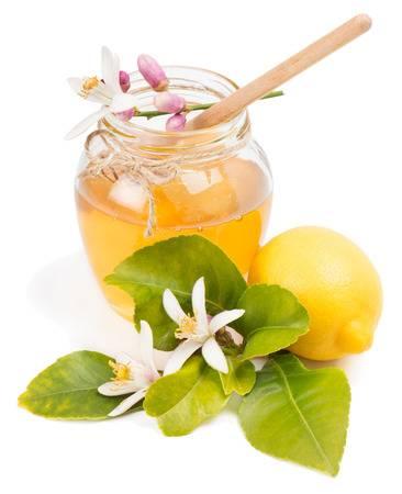 miel procedente del árbol de naranjo
