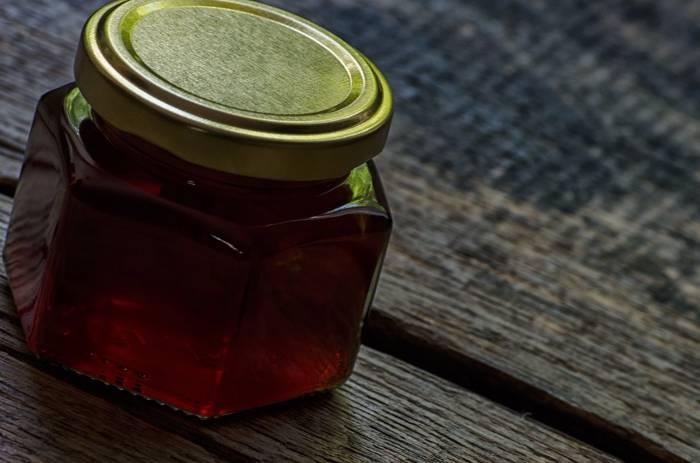 miel de castaño envasado