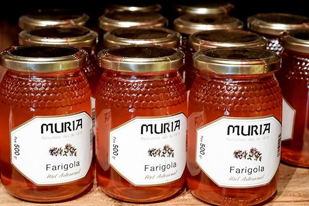 producto comercial miel de flores