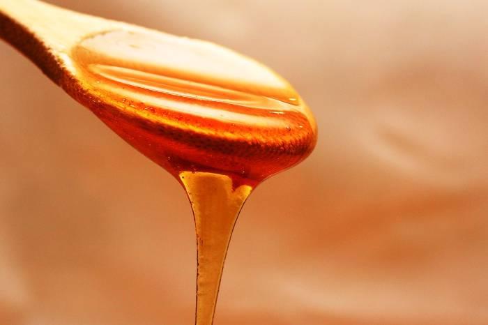 miel de lavanda apariencia