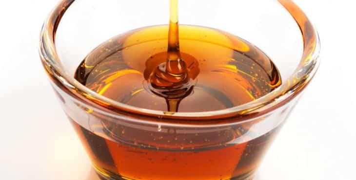 miel de maple color