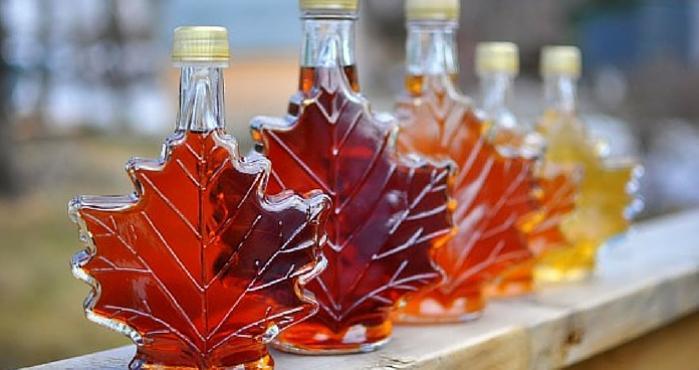 miel de maple producto comercial