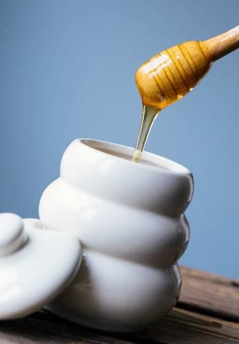 miel de maple en envase
