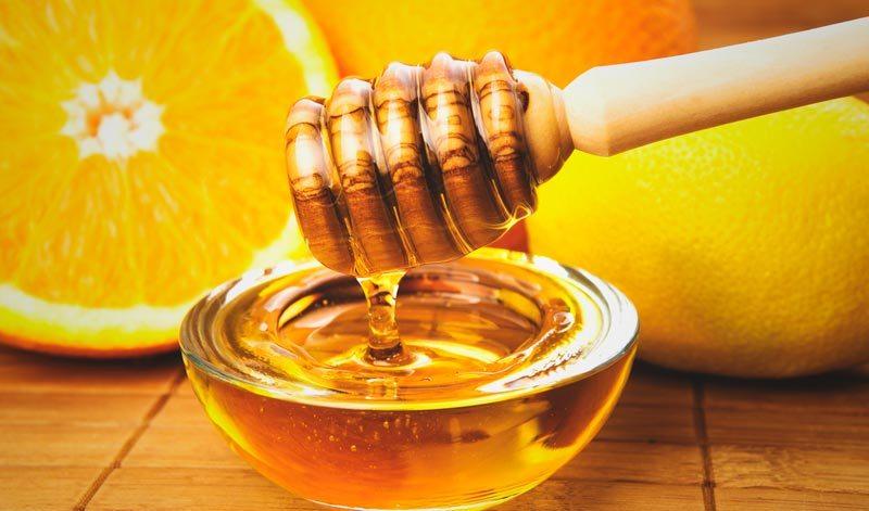 miel naranjas fruto