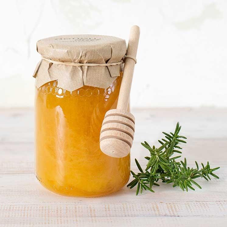 miel cruda de romero consumo