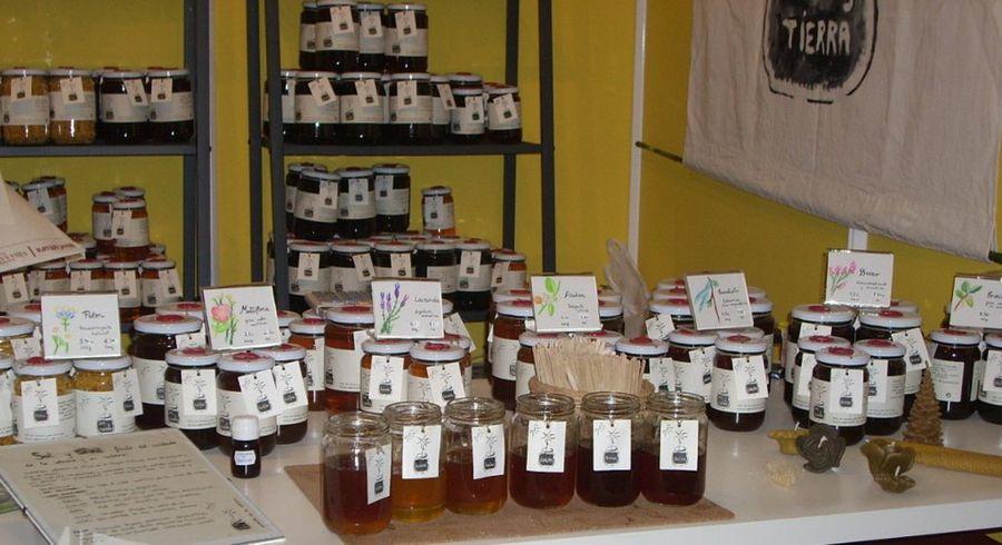 envases de miel ecológica
