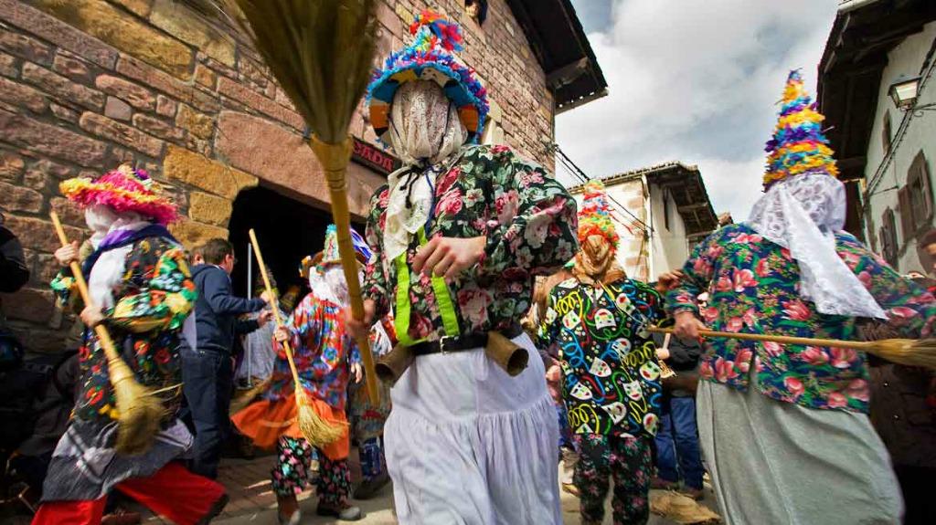 celebración del carnaval de lantz