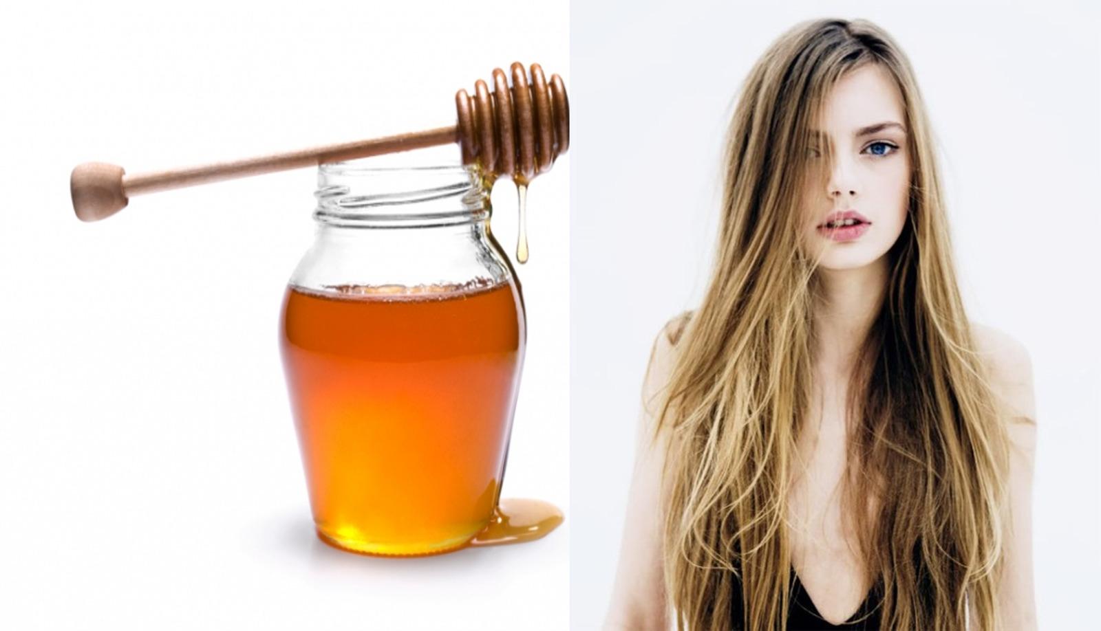 la miel para el cabello es totalmente saludable