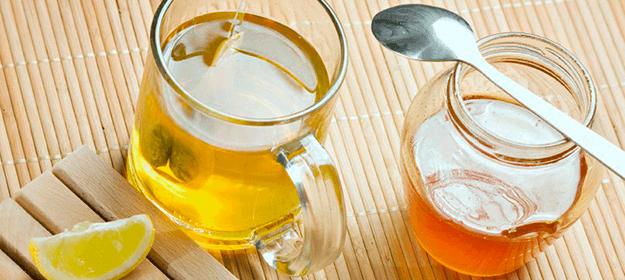 miel y limón para la garganta