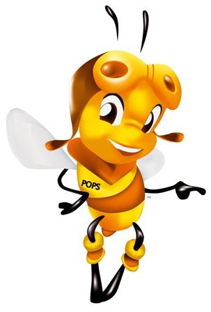 mascota oficial del miel pops