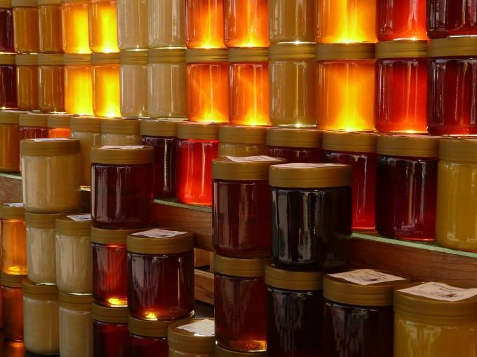 tipos y clases de miel en tarros