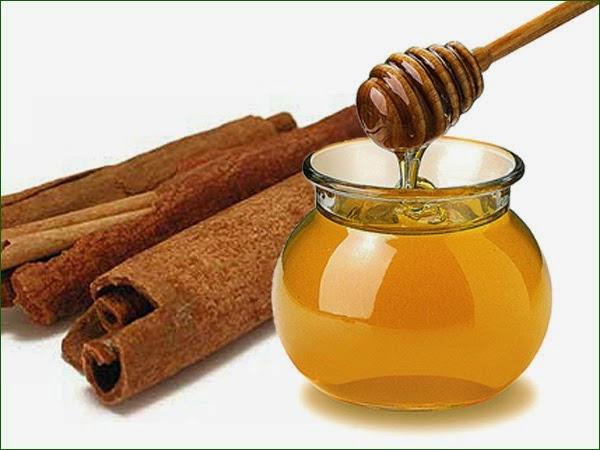mezcla poderosa de miel y canela