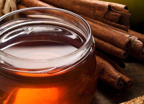 mezcla grandiosa de miel y canela