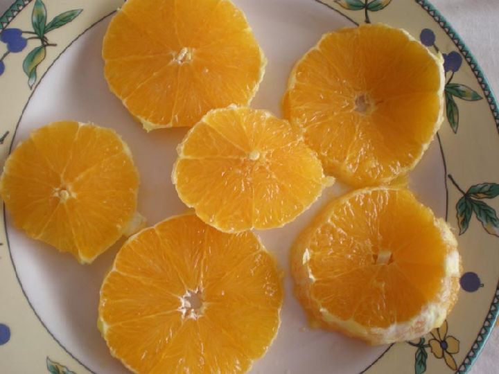 paso 3 receta naranjas con miel
