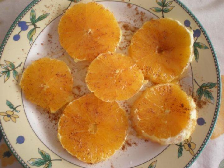 paso 4 receta naranjas con miel