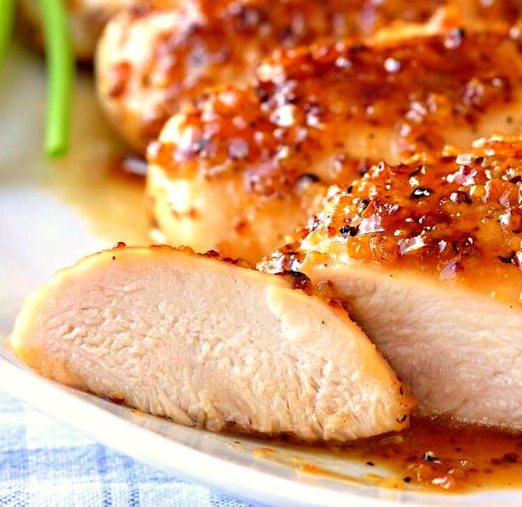 pollo a la miel terminado
