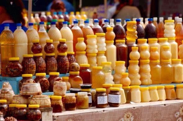 tipos de miel envasados