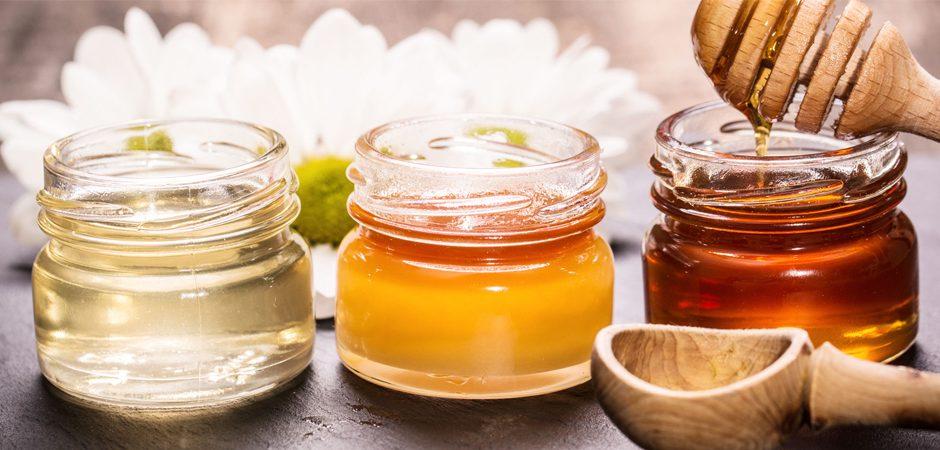 tres tipos de miel