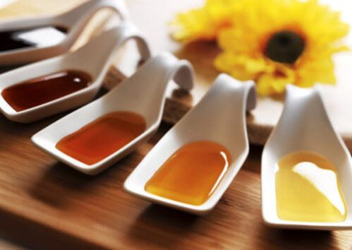 muestras de los tipos de miel