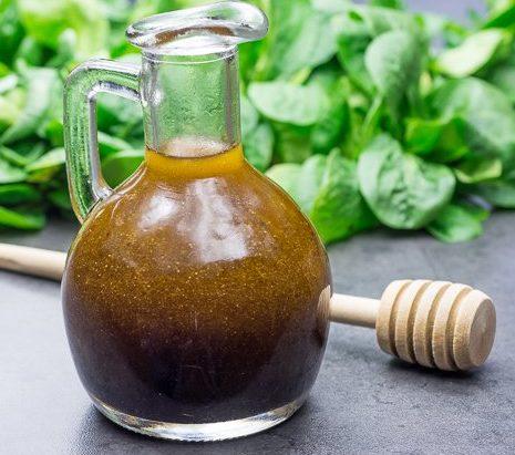 vinagreta de miel balsámico